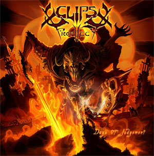 power metallers ECLIPSE PROPHECY sign with Maple Metal Records