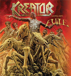EVILE confirm UK & Ireland shows with KREATOR