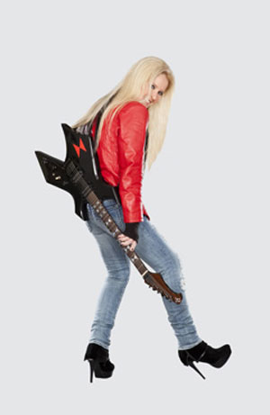 LITA FORD appearing at Dean Markley NAMM booth #5710