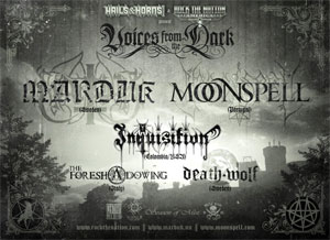 MARDUK announce tour with INQUISITION, THE FORESHADOWING and DEATH WOLF