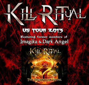 KILL RITUAL announce US tour dates and new guitarist