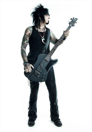 Schecter Guitars signs NIKKI SIXX, to unveil new bass at NAMM