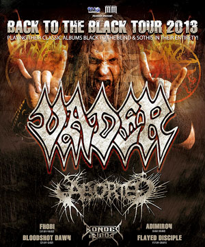 BONDED BY BLOOD kick off European tour with VADER tomorrow