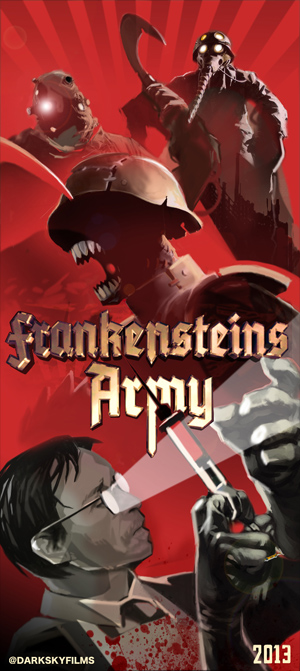 new still from upcoming thriller FRANKENSTEIN'S ARMY