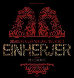 Viking metal band EINHERJER announce North American tour dates