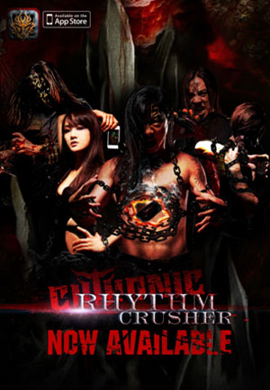Taiwanese metal band CHTHONIC music app game 'Rhythm Crusher' available worldwide