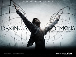 discover STARZ's historical fantasy 'Da Vinci's Demons' in behind the scenes look