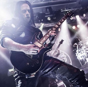 CRADLE OF FILTH guitarist launches Vomitorium Art Prints PRS guitar giveaway