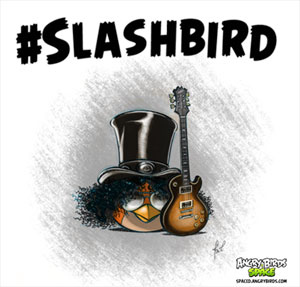 SLASH partners with ANGRY BIRDS SPACE for 'Slashbird'