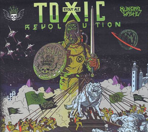 announcing… MUNICIPAL WASTE'S Toxic Revolution ale