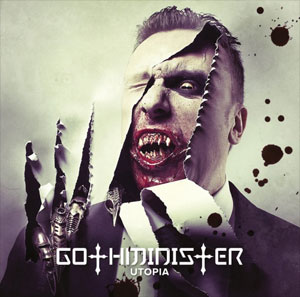 GOTHMINISTER: cover artwork & tracklisting of 'Utopia' unveiled