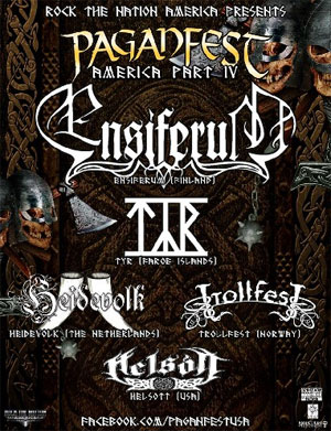 HEIDEVOLK to begin first North American this week, alongside ENSIFERUM, TYR