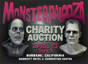 Monsterpalooza Charity Auction is April 13