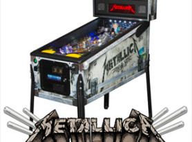 2nd METALLICA pinball premium edition announced