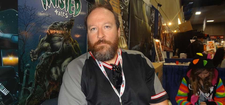 Tim Bradstreet at San Diego Comic Con