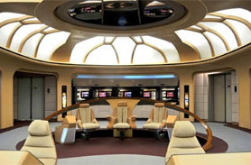 NEW STARSHIP FOUNDATION BRINGS the bridge of Enterprise-D to Comic-Con