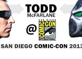 Todd McFarlane SDCC Signings, Panel, Exclusive Figures and Free Giveaways