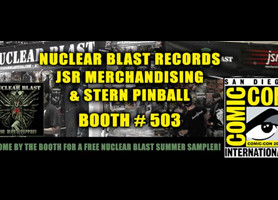 NUCLEAR BLAST'S TRIUMPHANT RETURN TO COMIC-CON 2013