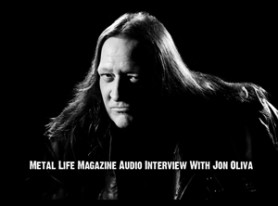 Metal Life Magazine exclusive interview with Jon Oliva