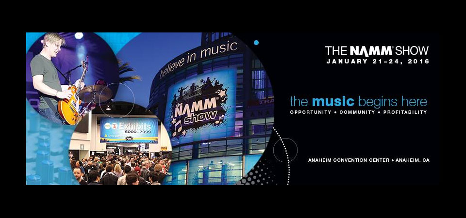 NAMM 2016 coverage by Metal Life Magazine