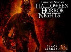 BLACK SABBATH maze at this year's Halloween Horror Nights