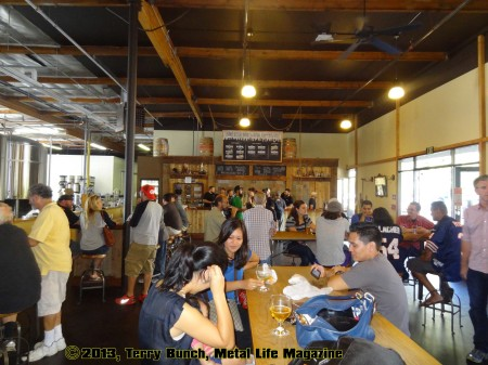 Societe Brewery tasting room