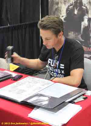 Matt Hawkins at Comikaze 2012