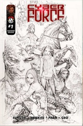 Cyber Force #1 cover