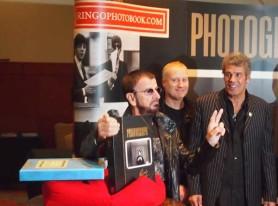 Rock Legend RINGO STARR promotes Kids in the Car photo