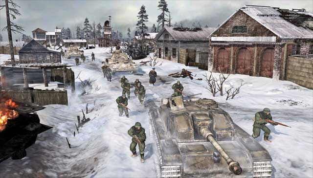 Coh 2 Case Blue : Company of heroes 2 u2013 theater of war dlc and new maps