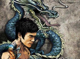 Bruce Lee tribute told in comic book form