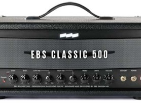 EBS Classic 500 solid state bass amp released