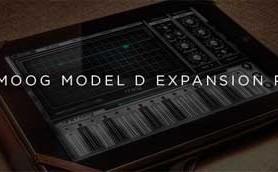 Moog Announces Minimoog Model D Expansion Pack for Animoog