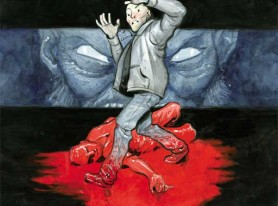 new horror comic BAD BLOOD from Dark Horse