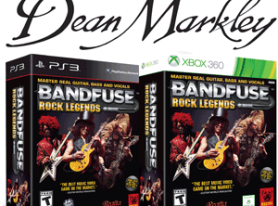 Video Game BandFuse Teams with Dean Markley at NAMM
