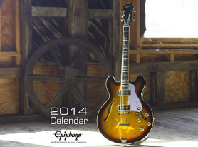 KICK-OFF THE NEW YEAR WITH EPIPHONE'S 2014 CALENDAR