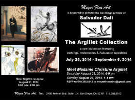 Salvador Dali: The Argillet Collection coming to San Diego