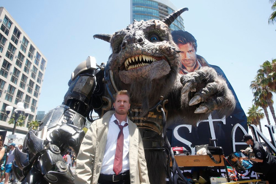 Comic-Con International: San Diego 2014 – Constantine