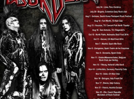 Lizzy Borden Announces 30th Anniversary Tour Dates