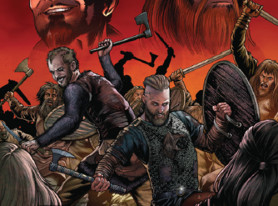 Vikings SDCC Comic Book Cover Revealed