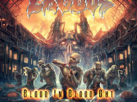 EXODUS Reveals Album Art For 'Blood In Blood Out'