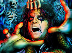 School's Back In Session For ALICE COOPER Biographical Comic Book