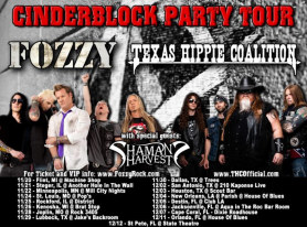 FOZZY Announce Headline Tour And New Bass Player