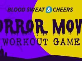 Horror Movie Workout and Drinking Game