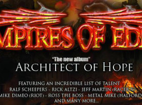 EMPIRES OF EDEN Fans Can Become Part Of The New CD