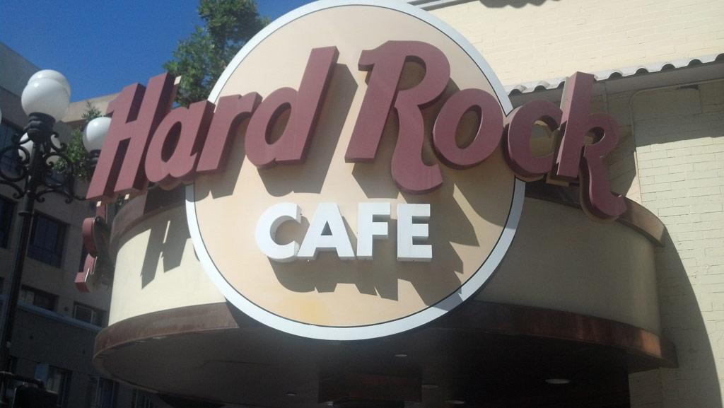 Hard Rock Cafe San Diego Drink Menu