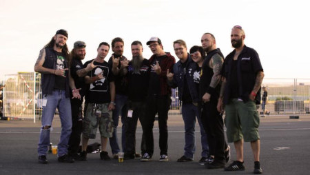 Malevolent Creation and the Century Media crew