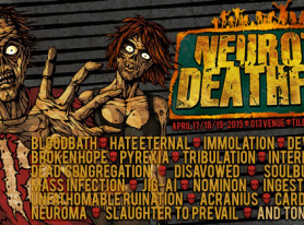 Neurotic Deathfest Announces Hate Eternal, Devourment, Broken Hope And More