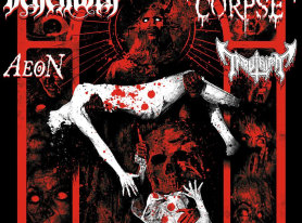Metal Life Coverage BEHEMOTH, CANNIBAL CORPSE, AEON, TRIBULATION in LA Feb 2015