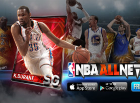NBA All Net Mobile Game Released